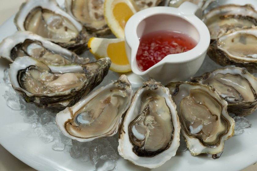 How are oysters an aphrodisiac
